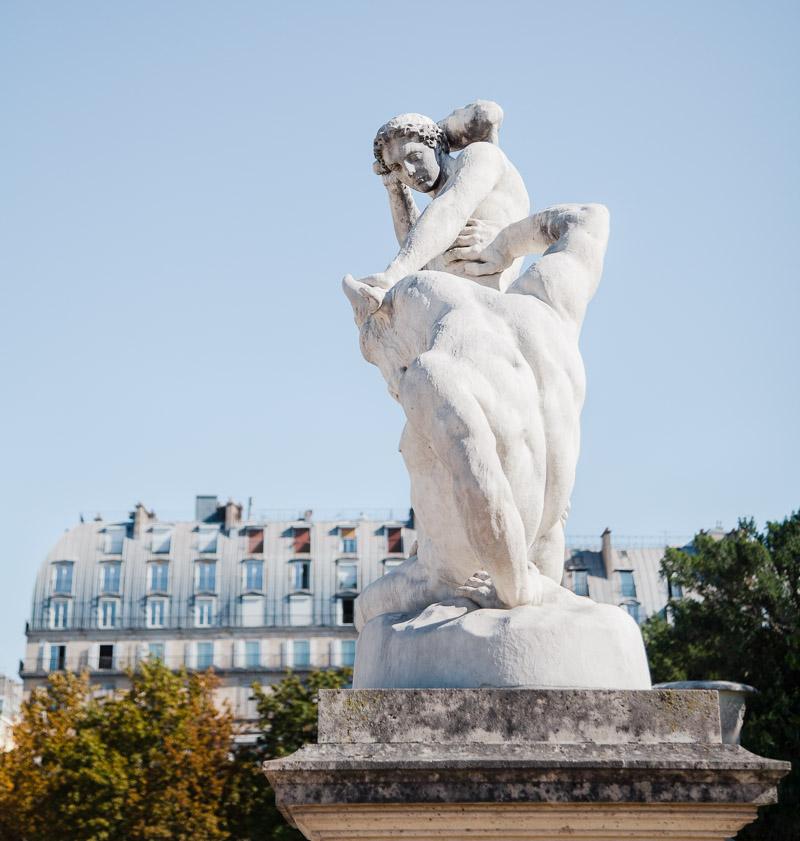 Paris Tuileries by Catherine Goron