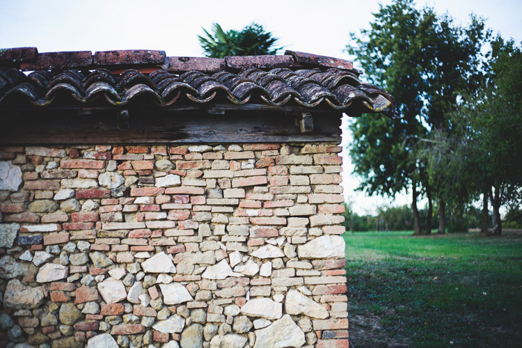 Stone house in the French countryside