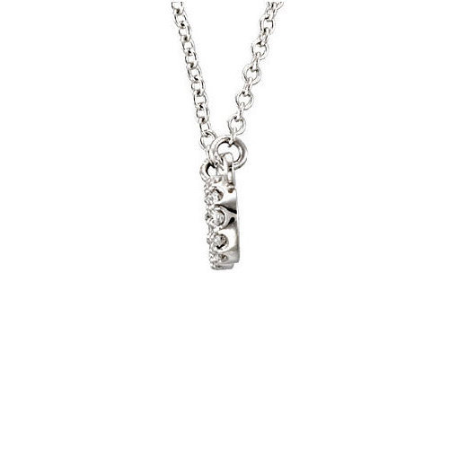Picture of Lux Platinum Necklace for Women