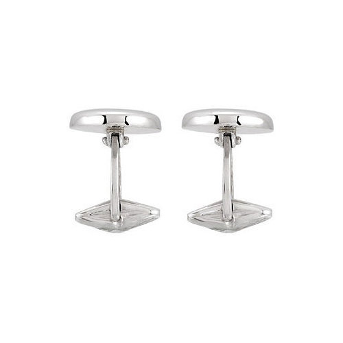 Picture of Lux White Gold Cufflink for Men