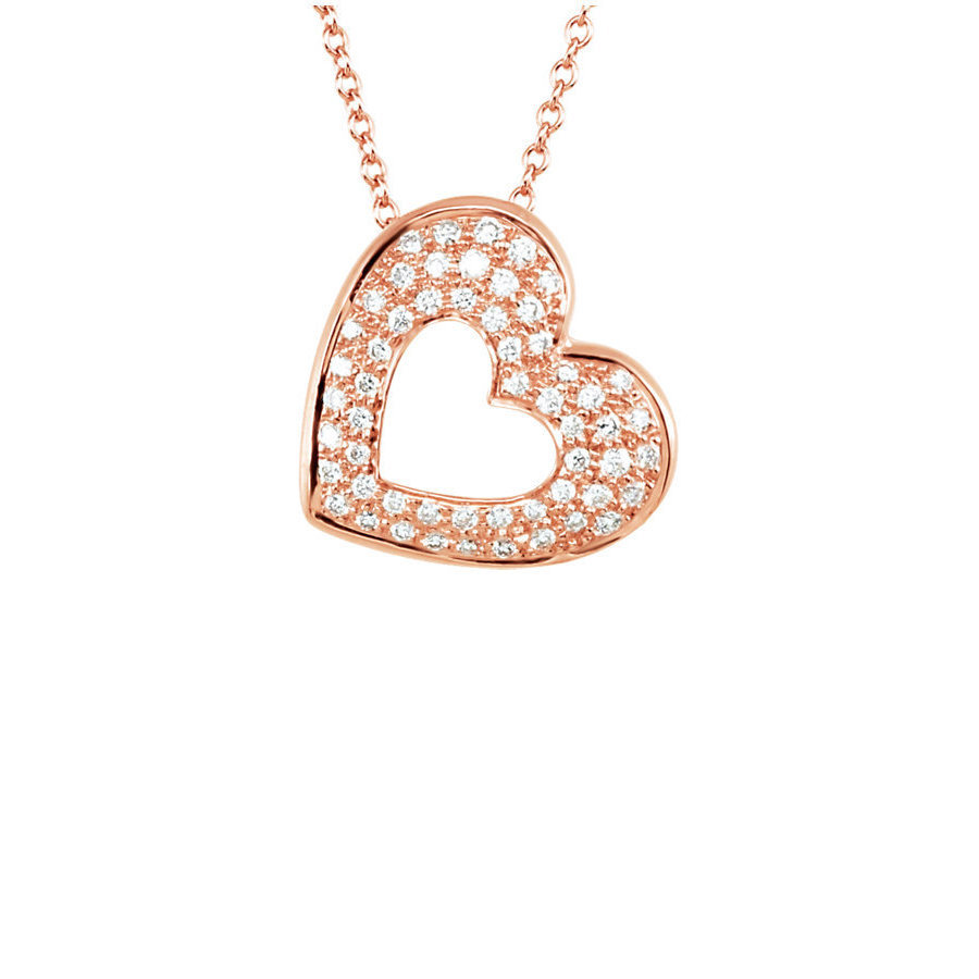 Picture of Lux Rose Gold Necklace for Women