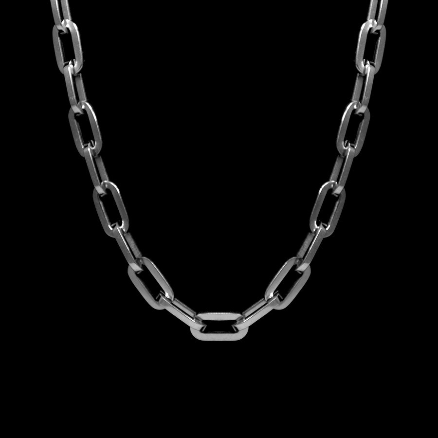 Picture of Lux Stainless Steel Necklace for Men