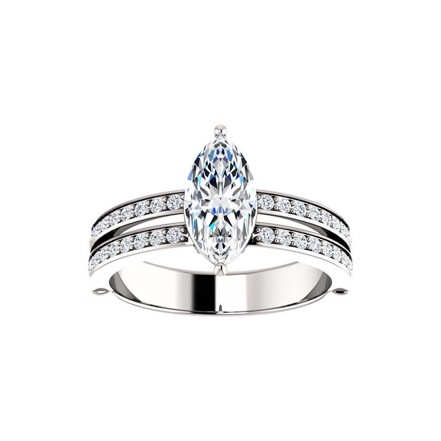 Picture of Lux White Gold Ring for Women