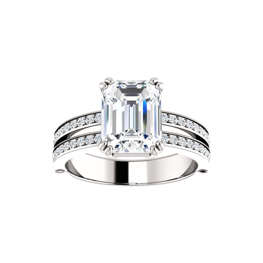 Picture of Lux Platinum Ring for Women