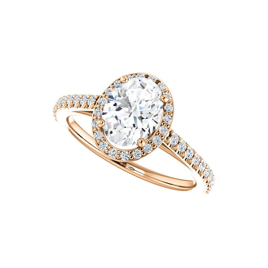 Picture of Lux Rose Gold Ring for Women