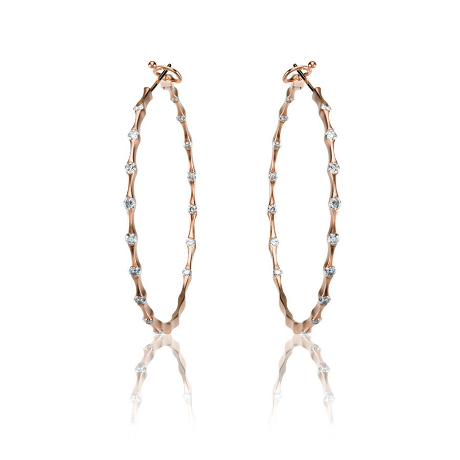 Picture of Lux Rose Gold Earrings for Women
