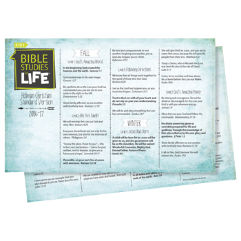 Bible Studies for Life - Life Verse Cards
