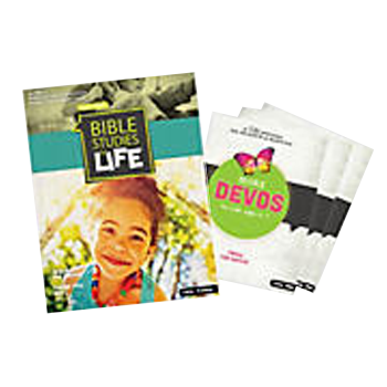 Bible Studies for Life Kids Activity Page/Devotional Bundle