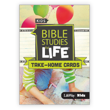 Bible Studies for Life Take Home Cards for Preschool and Kids