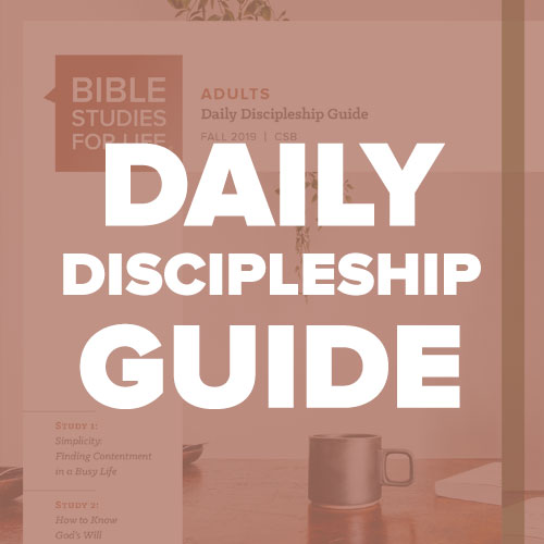 Dailey Discipleship Guide