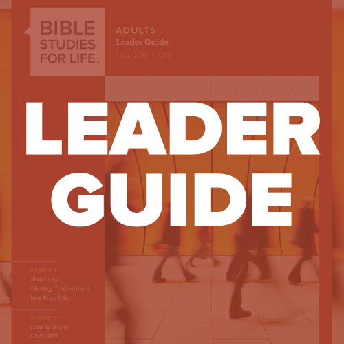 Adults - Bible Studies for Life