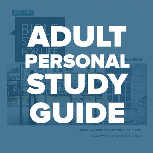 Adult Personal Study Guide