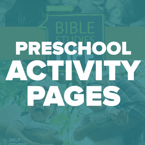 Preschool Activity Pages