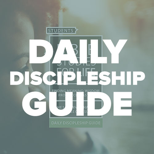 Daily Discipleship Guide