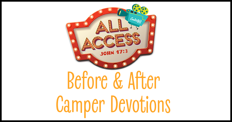 2019 Before and After Camp Devotions