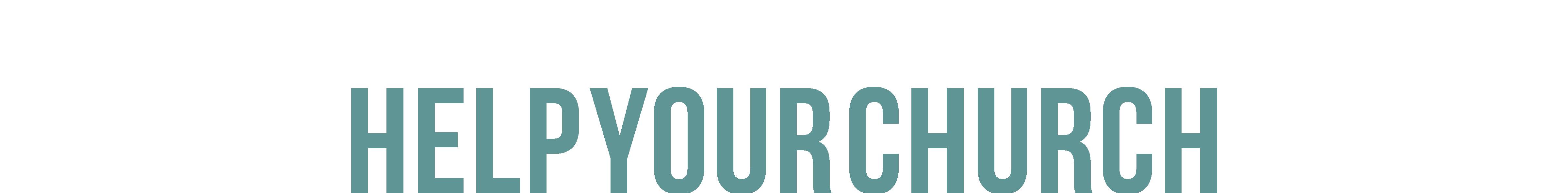 #HelpYourChurch