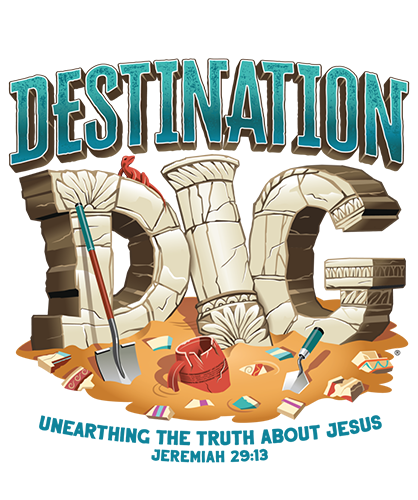 Destination Dig VBS - Logo