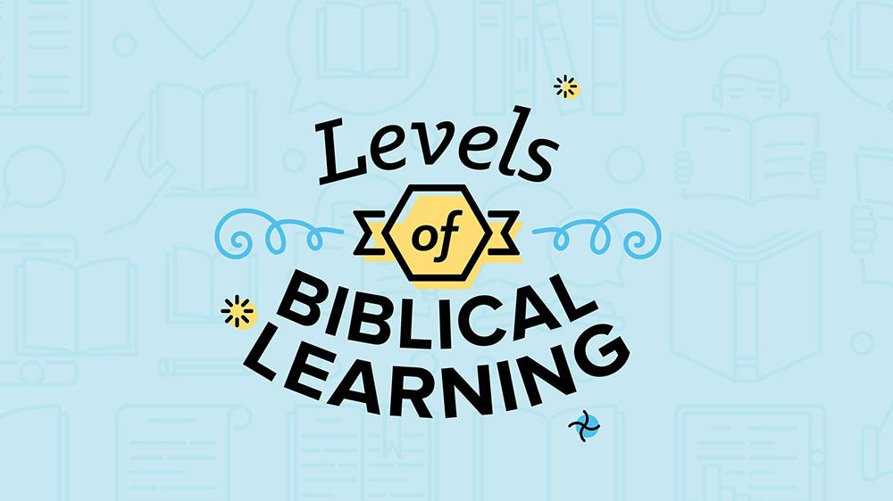 Levels of Biblical Learnng Image