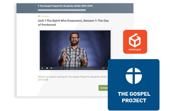 The Gospel Project for Students: Christ-centered Bible Studies