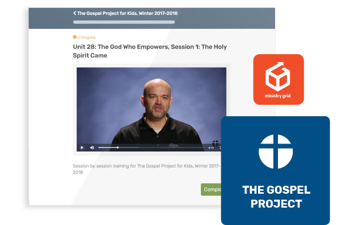 The Gospel Project for Kids: Bible Study & Sunday School Curriculum