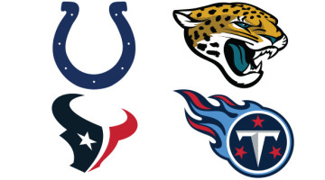 AFC South Team Logo