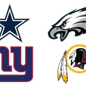 NFC East Team Logos