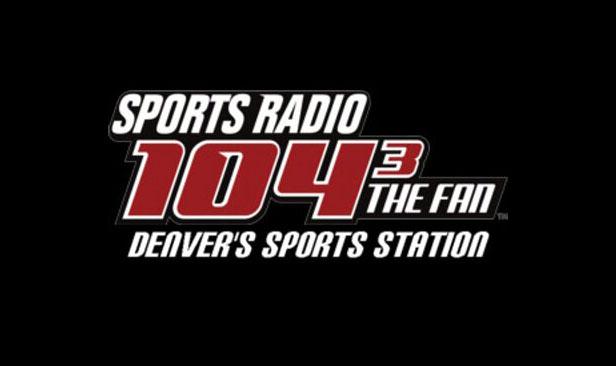 104.3 The Fan in Denver Logo