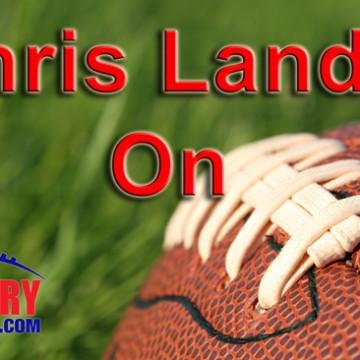 Chris Landry on Football Logo