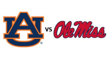 Auburn vs Ole Miss