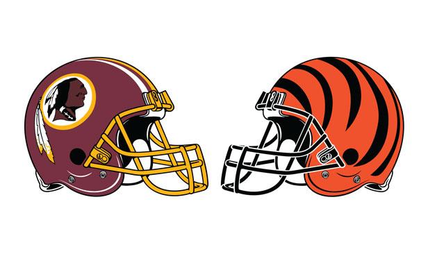 Washington Redskins at Cincinnati Bengals