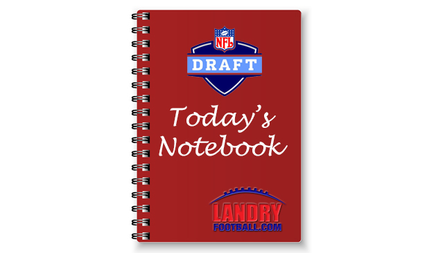 Chris Landry's Daily NFL Draft Notebook