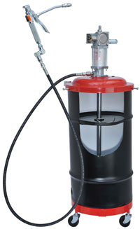 New 6917 Air-Operated Portable Grease Pump Package