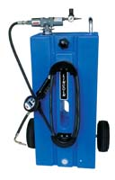 Oil Rider Portable Tank, Pump and Meter