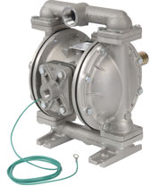 Upgraded Air-operated, UL-listed Diaphragm Pumps