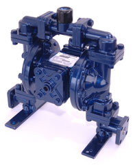 Lincoln Offers New Dual-Inlet, Air-Operated, Double Diaphragm Pumps