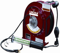 Lincoln 91035 Heavy-Duty LED Light Cord Reel