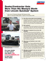Dane Lowry, VP Equipment Manager, RGW Equipment Livermore, California