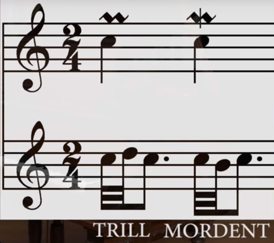 What S The Difference Between A Mordent And A Trill