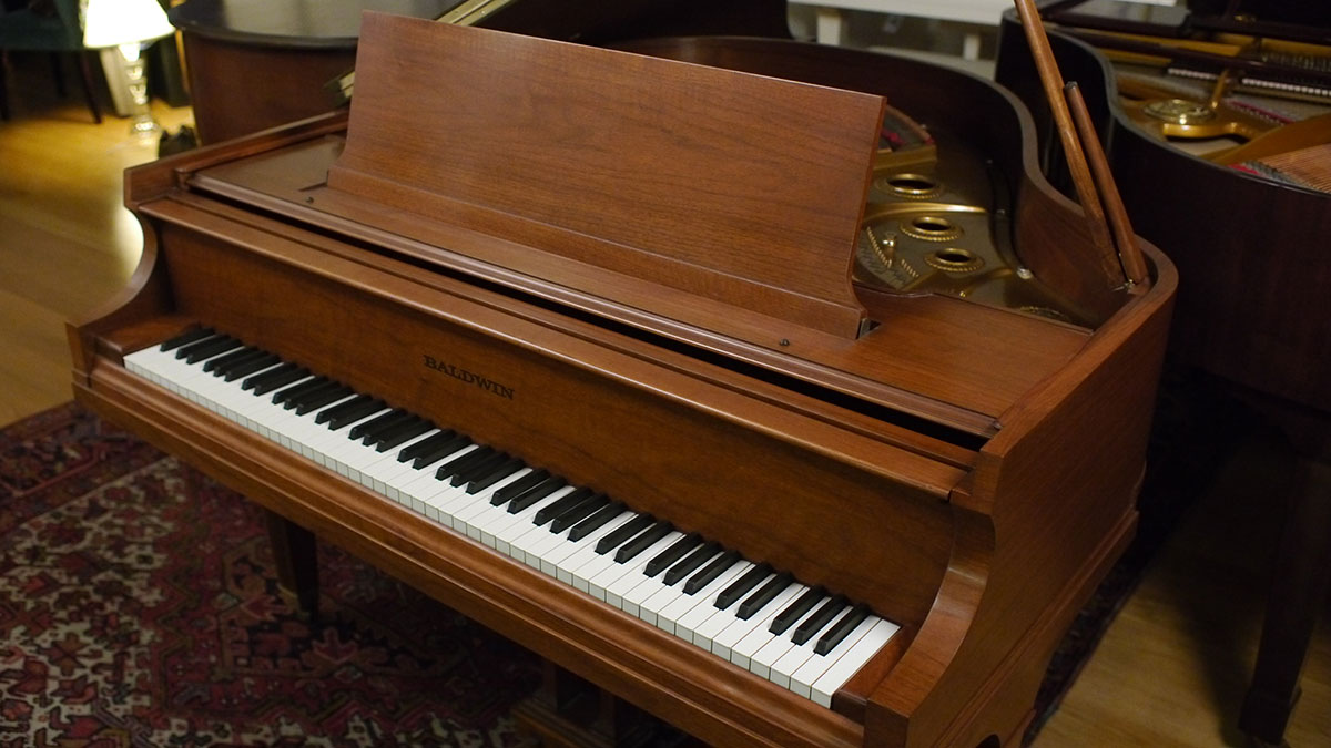 Baldwin model m baby grand piano 167452 for What size is a grand piano