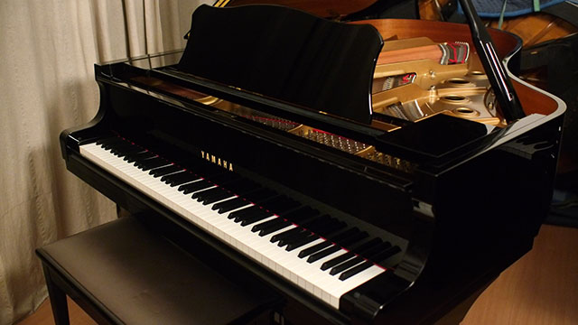 yamaha c3 conservatory series grand piano e5251727