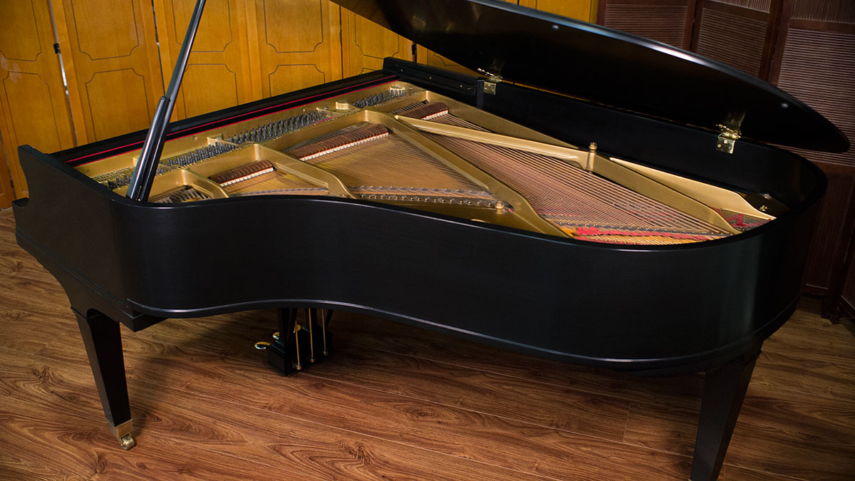 Used baldwin model l artist grand piano made in usa for What size is a grand piano