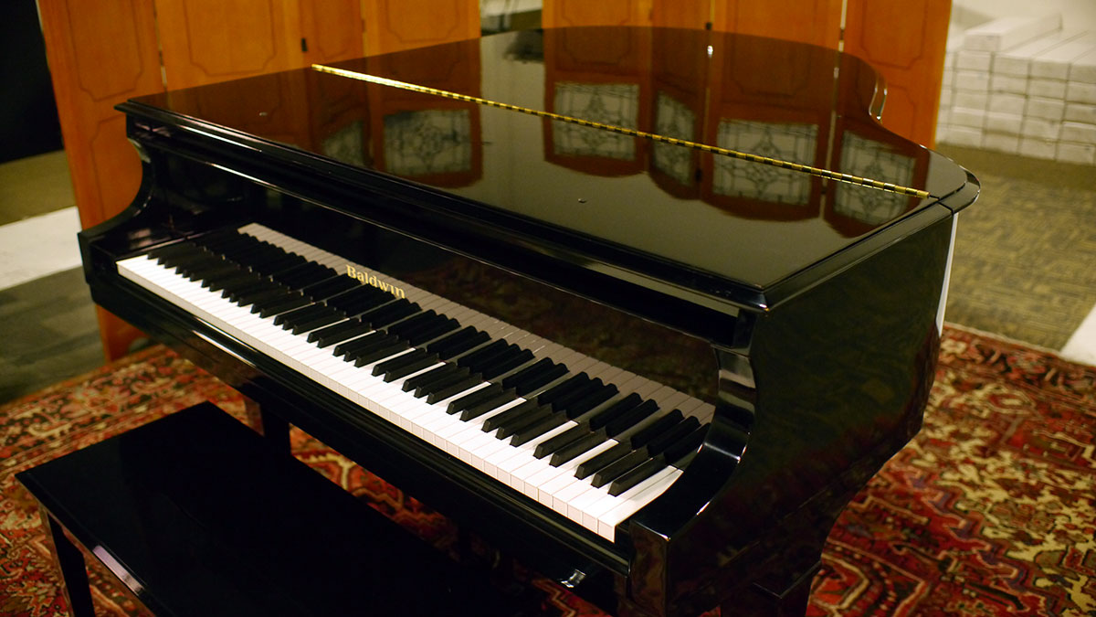 Baldwin Model M Ebony Polish Baby Grand 299982