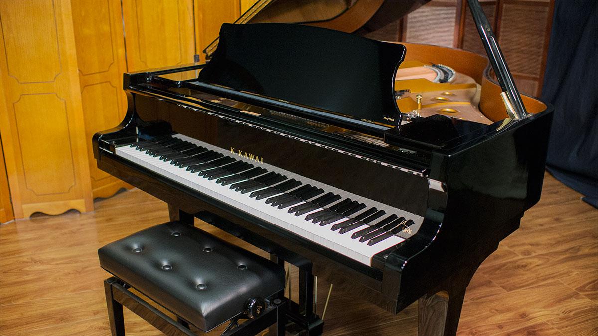 Kawai rx 3 blak series grand piano 2627681 for Yamaha baby grand piano dimensions