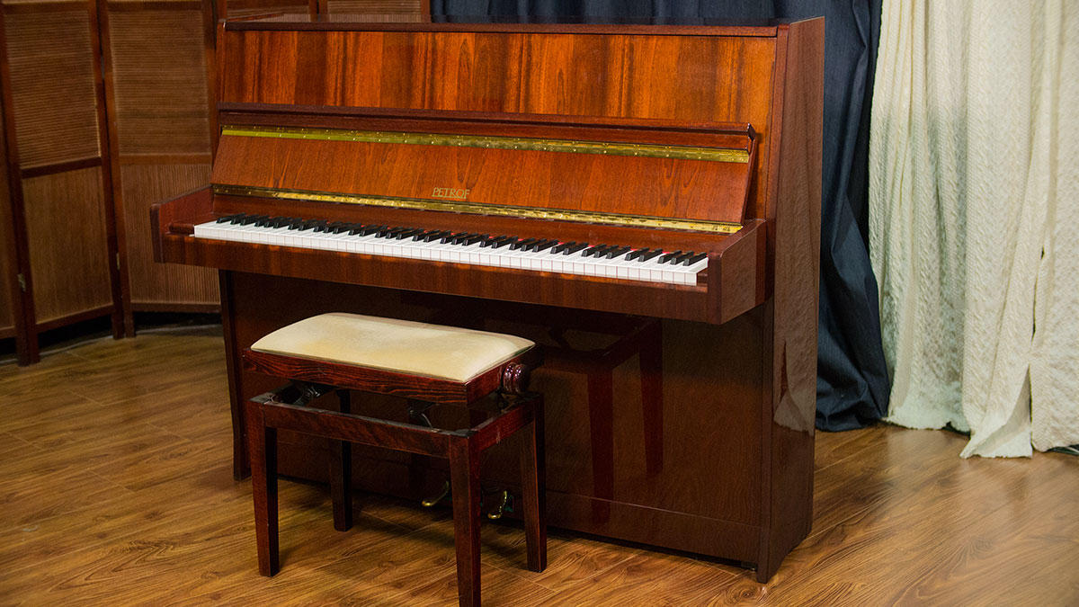 Used Petrof Studio Upright Piano For Sale
