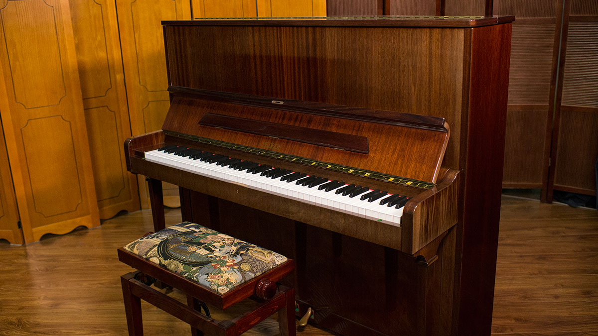 used petrof upright piano for sale living pianos. Black Bedroom Furniture Sets. Home Design Ideas