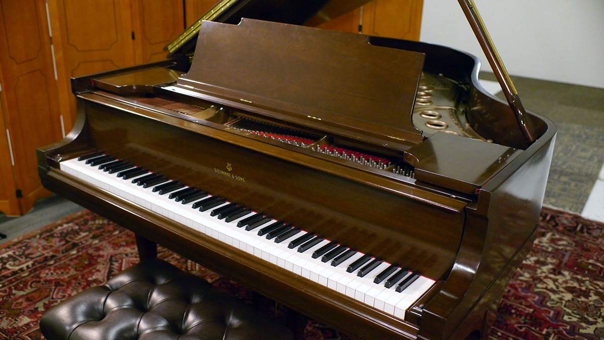 Used Steinway Pianos For Sale Model M Made In Usa