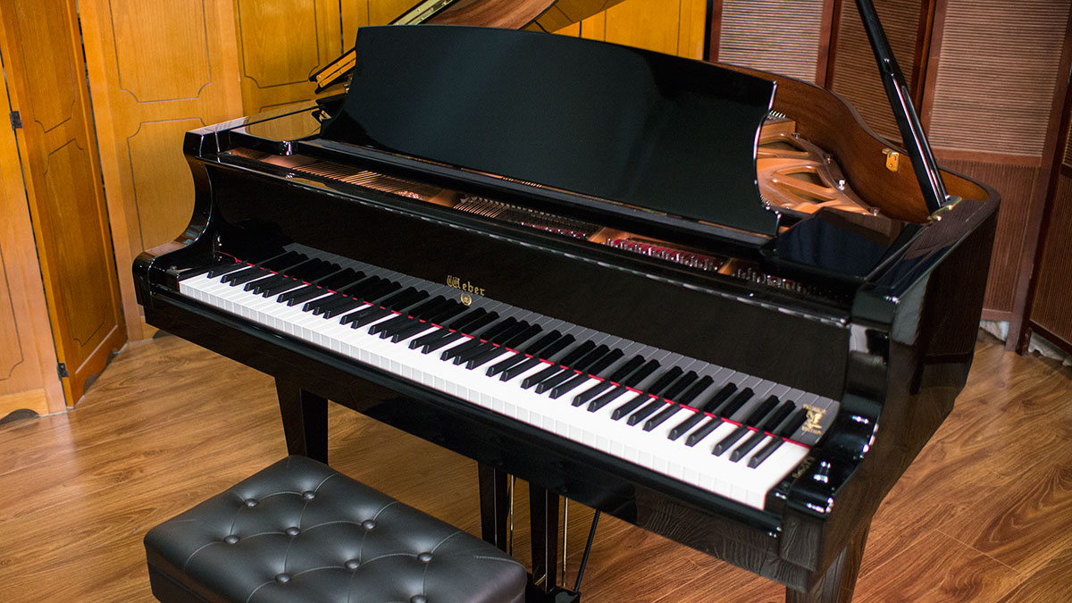 New Weber W150 Baby Grand Piano