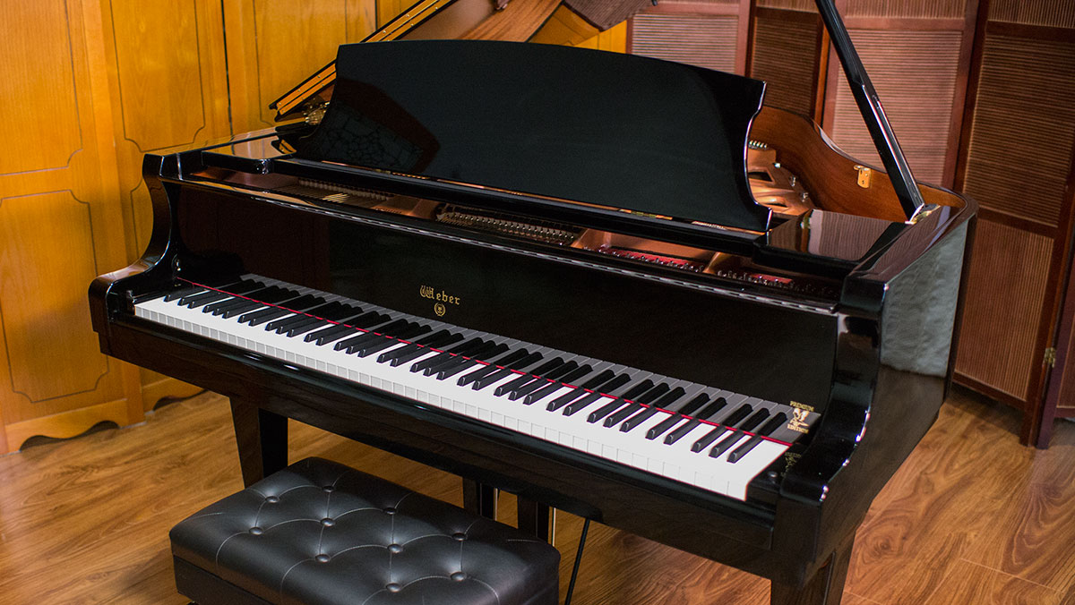 New weber baby grand hg011143 for What size is a baby grand piano