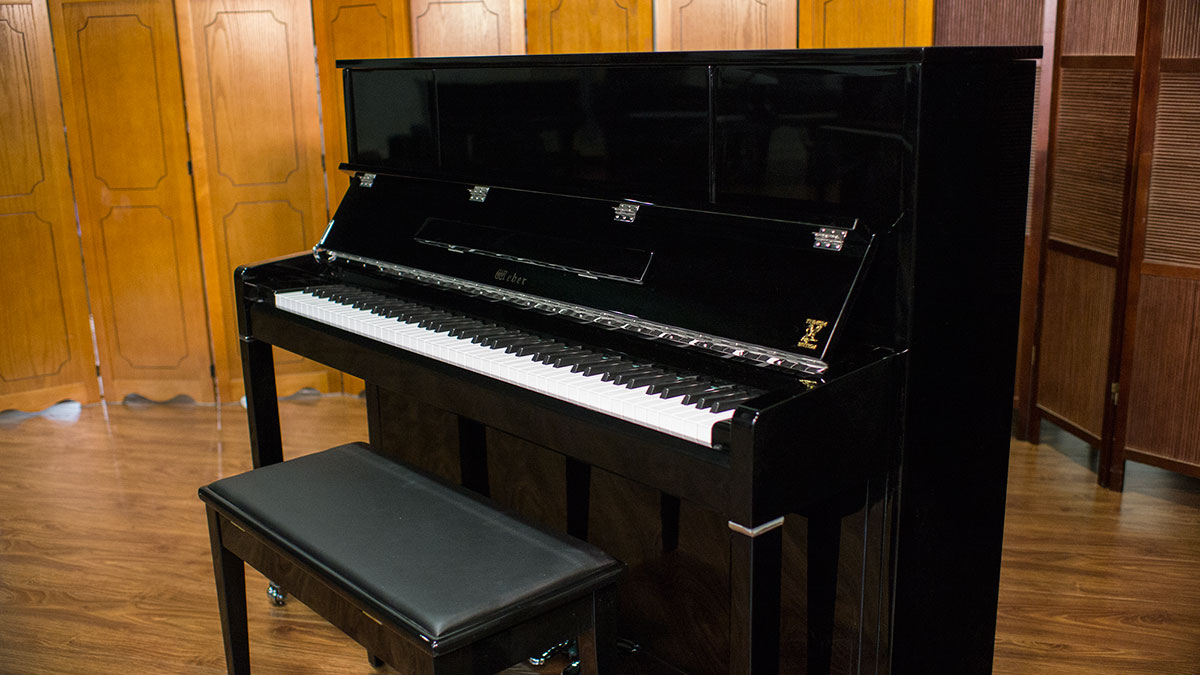 New Weber Studio Upright Piano For Sale Living Pianos