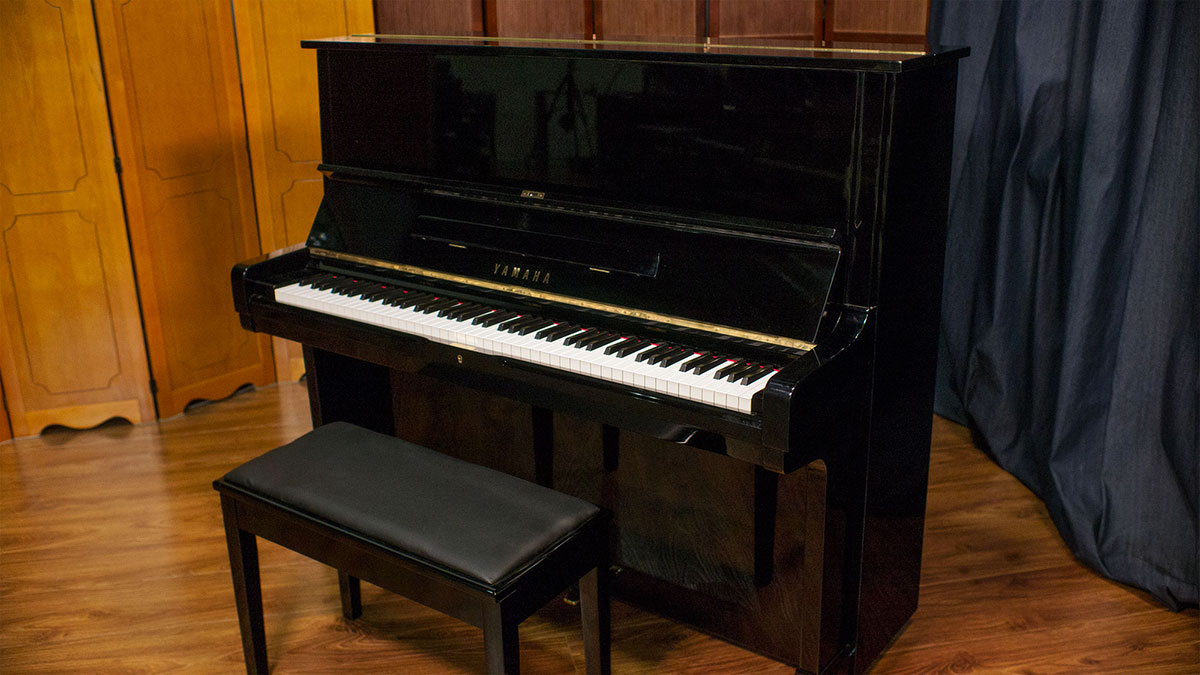 Used yamaha u2 upright piano for sale living pianos for Used yamaha pianos for sale
